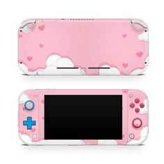 Pink Clouds Skin For Nintendo Switch Lite 2019 Hearts Decal Switch Skins Trendy Stickers Vinyl Pink Skins Gaming Accessory Nintendo Lite, Nintendo Switch, Orange Moon, Gamecube Controller, Gaming Accessories, Pink Clouds, Kawaii Stuff, Cute Gif, Nintendo Consoles