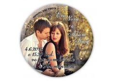 Svadobné oznámenie magnet - SM004 Ova