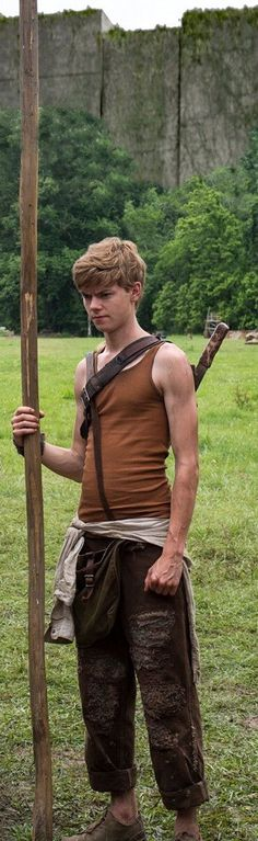 So... I'm really attracted to newt... (Thanks James) and then of course Thomas Brodie sangster is casted as newt. (Thanks Wes)
