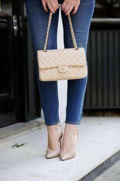 Chanel Classic flip flap handbag