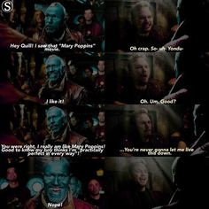 [Peter/Yondu Au] HeyooSo I really loved their father-son relationship more than I should do and I'm sure I'll miss it so much!