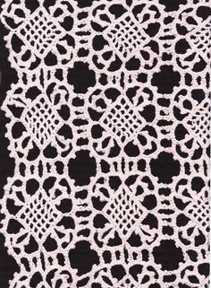 VIENNA CROCHET LACE CAFE CURTAIN PANEL- INSPIRED BY CELTIC KNOT ...