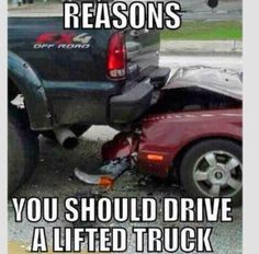 Gonna be my excuse for when I get my truck! Haha! Drove a truck with a steel bumper from Ranchhand. Someone in the parking lot with a brand new mustang ran smack into it.