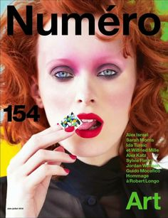 Karen Elson by Victor Demarchelier for Numero Magazine June/July 2014