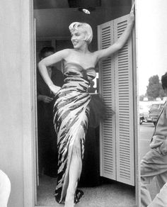 "Marilyn during the production of ""The Seven Year Itch"" by Sam Shaw in 1954."