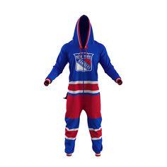 NHL Onesie - New York Rangers - Hockey Sockey