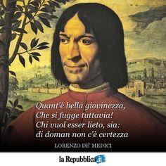 """""""1 gennaio 1449 - Nasce a Firenze Lorenzo de' Medici, detto Lorenzo il Magnifico #accaddeoggi"""""""