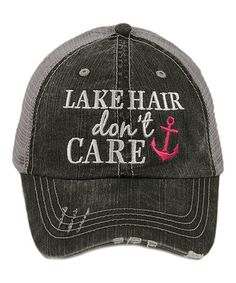 Who doesn't need an ahhhh~dorable hat for the lake? I have this and LOVE it!