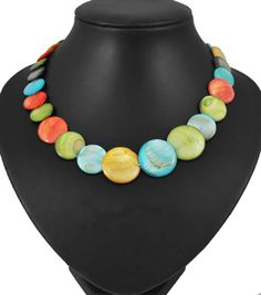 Shell Beads Necklace from Pandahall.com