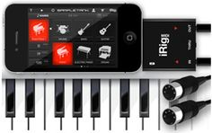 If you are a musician that also has an iPhone, iPad, or iPod Touch, you'll love this! - Review of iRig MIDI by IK Multimedia