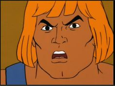 He-Man with mouth agape