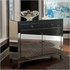 Standard Furniture Plaza Buffet in Mirror