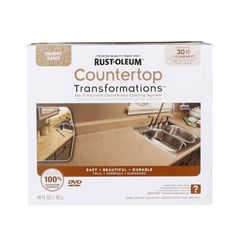 Visit The Home Depot to buy Rust-Oleum Transformations Countertop Small Desert Sand 258514 Rustoleum Countertop, Countertop Kit, Kitchen Countertops, Countertop Transformations, Deserts, Counter Tops, Kitchen Ideas, House, Countertops