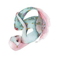 Mermaids' tears become precious pearls. Las lágrimas de las sirenas se convierten en perlas preciosas. #mermay