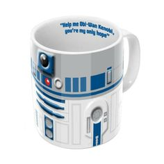 From the site: 3D Mug: R2-D2  The Star Wars R2-D2 Mug has a cool 3D effect and is the perfect gift for any Star Wars fan!