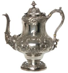 Gale & Willis Sterling Silver Coffee Pot : Lot 364