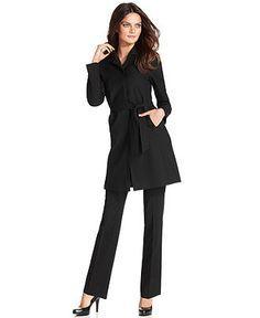 Long Jacket / Pant Suit By Kasper (for Women) | Coats, For women ...