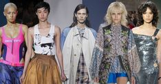 It talks about the Top 10 Trends of Spring 2018. They are all take away from fashion shows. And they are more than garments. There are some trends like disco redux, one-two punch are really popular trend right now. Feng F