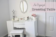An Organized Dressing Table  keeps your morning and evening routine simple and seet.| A Bowl Full of Lemons