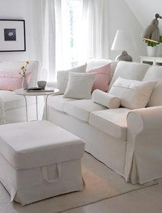 I love IKEA!!!! white living room