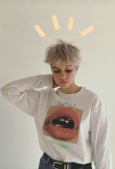 36 Trendy Haircut For Girls Boy Trendy Haircuts, Short Hairstyles For Women, Pretty Hairstyles, Hairstyle Ideas, Short Girl Haircuts, Girls With Boy Haircuts, Outfits For Short Hair, Short Hair For Girls, Long Hairstyle
