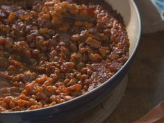 Grammy Carl's Rule For Baked Beans recipe from Nancy Fuller via Food Network <<<< March 8 2015 episode- A Farmer's Family Tree