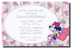 Minnie Mouse Cheerleader Party Invitations can be used for any occasion. By www.TCWDESIGNS.com Cheerleader Party, Cheerleading, Disney Invitations, Party Invitations, Diy Party, Best Part Of Me, Minnie Mouse, Birthday, Fun