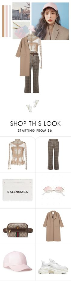 """""""Heize"""" by aals2 ❤ liked on Polyvore featuring StyleNanda, Dolce&Gabbana, Marc Jacobs, Balenciaga, Gucci and Monki"""
