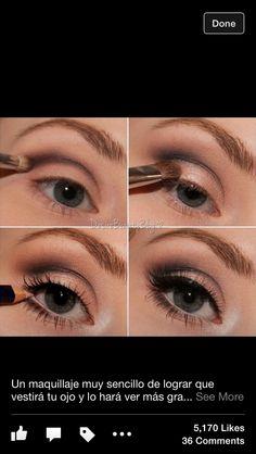 Pretty makeup! 1970's theme