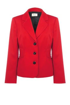 Scarlet Pintuck Detail Jacket