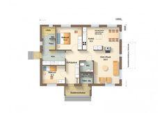 O93-14 - Jukkatalo Floor Plans, Floor Plan Drawing, House Floor Plans