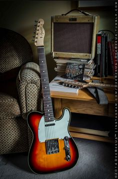 Tele.  Not sure what year, but it looks newer.