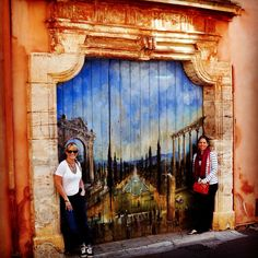 This is the way they do garage doors in Provence by Leah Marie Brown
