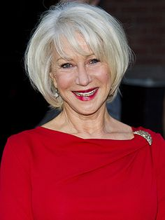 All about Helen Mirren. Biography, news, photos and videos Dame Helen, Mommy Makeover, Helen Mirren, Fashion Colours, Ladies Day, True Beauty, Amazing Women, Hair Cuts, Hair Color