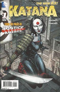 DC Katana comic issue 1 The New 52