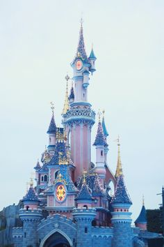 Enchanted fairytale castle