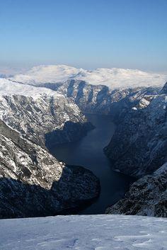 Naeroyfjorden, Norway