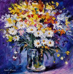 Леонид Афремов  Leonid Afremov  Flowers For You