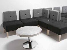 Sofá pequeno de tecido PUNTO | Banco para restaurante by Metalmobil | design Francesco Geraci