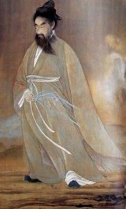 "The Legendary Chinese Poet Qu Yuan (Kutsugen, 屈原), author of ""Chu Ci"" // Detail of painting by Yokoyama Taikan Mediums Of Art, Japan Painting, Dragon Boat Festival, Japanese Artwork, Korean Art, China Art, Historical Art, Paintings I Love, Japanese Artists"