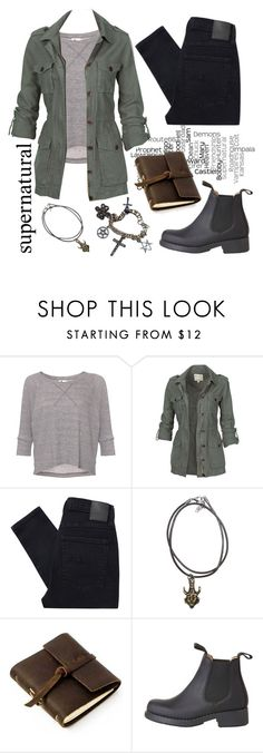 """""""Supernatural"""" by carminadu ❤ liked on Polyvore featuring L'Agence, Fat Face, Nobody Denim, Rustico, Coven, women's clothing, women, female, woman and misses"""