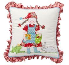 RoomSeven - Little Girl Yastık 40x40 @Renklizebra.com