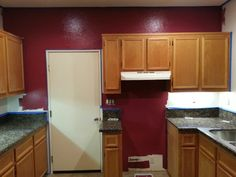 Kitchen and paint