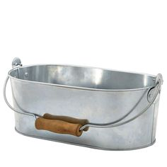 "<strong>Galvanised Steel Oval Table Caddy 28x15.5x10cm -</strong> Galvanised steel tableware & kitchen range, suitable for all occasions. Combine with grease-proof sheets & prolong the life of the product, absorb excess grease and create ""Gastropub"" style, serving sides or Tapas style dishes in an exciting new way. Ideal for a single portion & provides high resistance to staining and maintains an excellent finish."