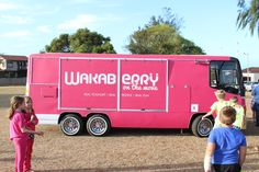 Wakaberry On The Move - bringing happiness to you!