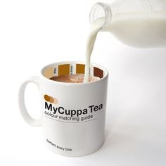 clever, although you should know how you like your own coffee... MyCuppa Mug