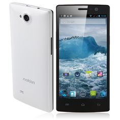 Neken smartphone has RAM, ROM, front + rear double camera, with 5 inch screen and quad core professor, installed Android OS. Install Android, Android 4, Smartphone, 2gb Ram, Quad, Cell Phone Accessories, Core, Professor, Touch