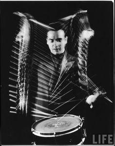 Gene Krupa...cool photo!