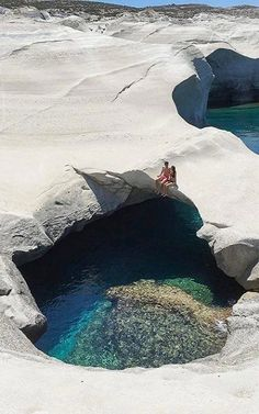 Sarakiniko - Milos Island, Greece | by milesgray88 ✈✈✈ Don't miss your chance to win a Free Roundtrip Ticket to anywhere in the world **GIVEAWAY** ✈✈✈ https://thedecisionmoment.com/free-roundtrip-tickets-giveaway/