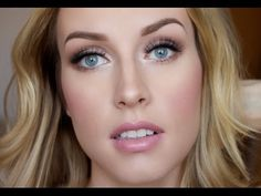 How To: Bridal Makeup Tutorial - Lashes Love & Leather - YouTube
